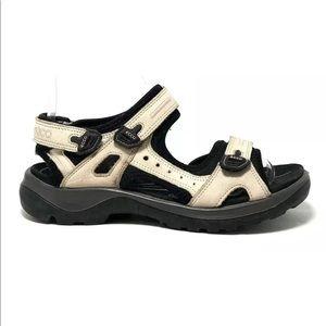 Ecco Yucatan Offroad Women's Cream Sport Sandals